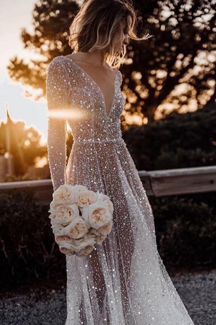 Vestido De Novia Con Transparencia Elegante Vestidos De Novia Para Tu Boda Vestidos De Novia Tumblr Vestidos De Novia Vestidos De Novia Sofisticados