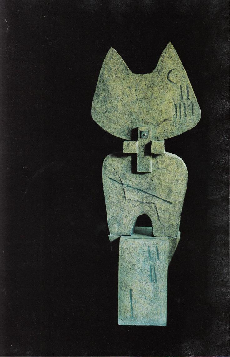 Guido Gambone scultura astratta