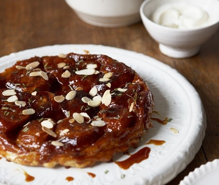 Tarte Tatin With Rosemary Recipe |from Daniel Galmiche's French Brasserie Cookbook | House & Home