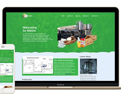 """Check out new work on my @Behance portfolio: """"Metin Uganda Limied Website"""" http://on.be.net/1OniDaA"""