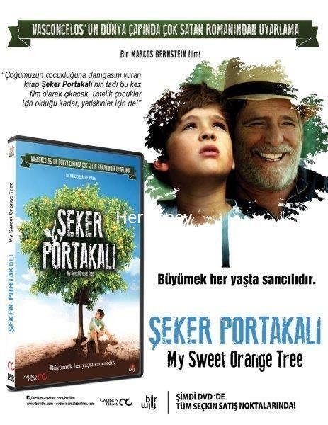 DVD ŞEKER PORTAKALI - MY SWEET ORANGE TREE 22,49 TL ( KDV Dahil )