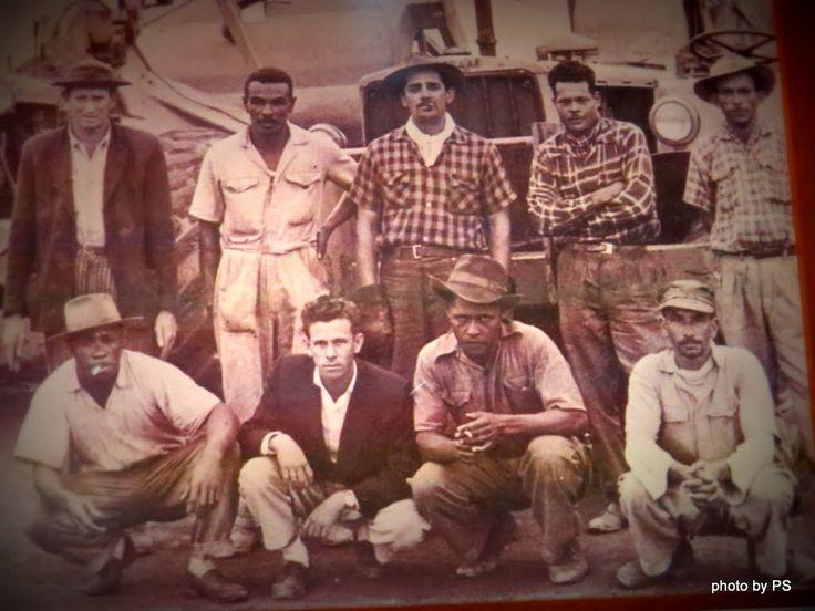 trabalhadores da construção civil em obra de sao bernardo do campo - estudio vera cruz