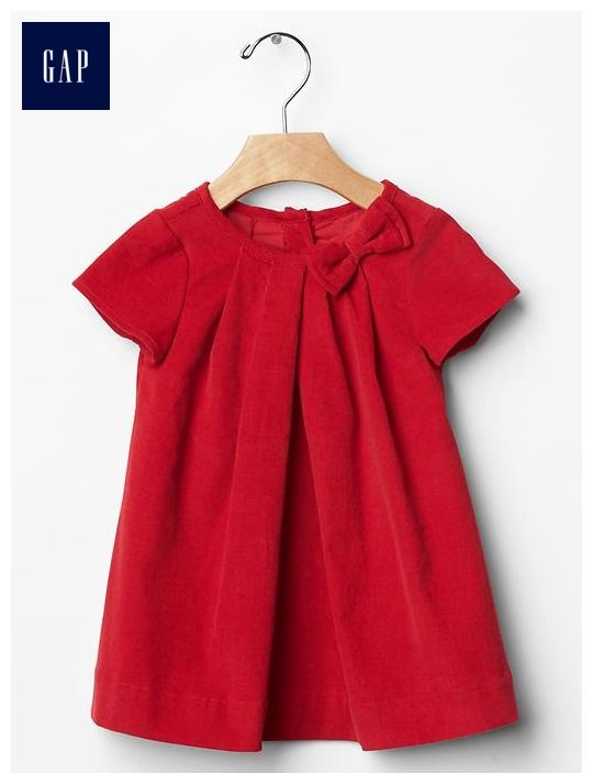 Red xmas dress Baby girl