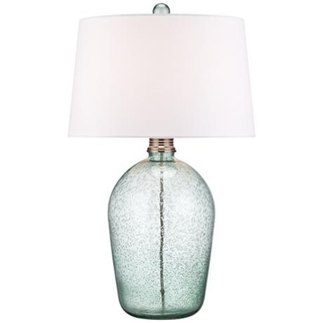 Hand Blown Teal Bubble Glass Table Lamp. Glastischlampen BeleuchtungsideenWohnzimmer IdeenStyle IdeenFamilienzimmerBubbleSeegrün