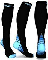 Compression Socks for Men & Women, BEST Graduated Athletic Fit for Running, Nurses, Shin Splints, Flight Travel, & Maternity Pregnancy. Boost Stamina, Circulation, & Recovery