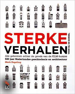 Sterke verhalen voor bij de borrel van Mark Zegeling   ISBN:9789081905602, verschenen: 2013, aantal paginas: 432 #sterkeverhalen #klm #delftsblauw #huisjes #boek #geschiedenis - De KLM deelt al sinds de jaren vijftig in de Business Class Delfts blauwe huisjes uit. Elk jaar wordt een nieuw huisje uitgegeven. De replica's van echt bestaande monumenten worden wereldwijd gezien als een icoon van Nederland...
