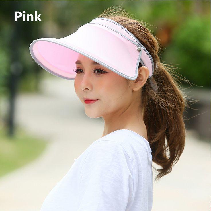Women visor hat for summer wear protection sun hats