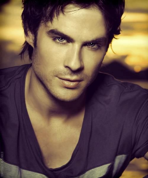 "Ian Somerhalder - a famous actress, a real drop-dead sexy one. I love his movies, especially the "" the vampy diaries """