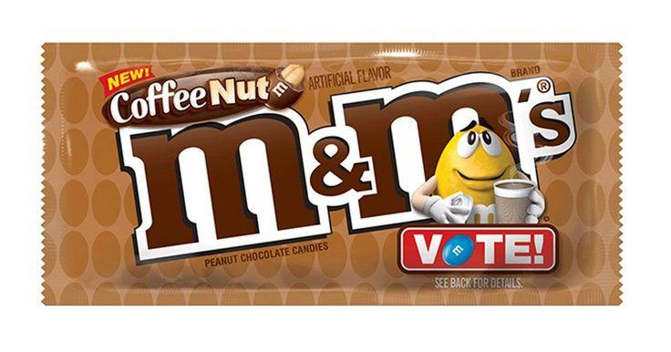 brand new peanut mm's flavor is sure to delight caffeine