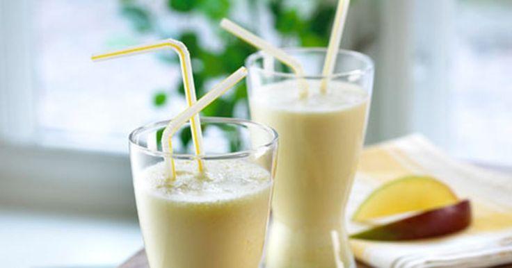 Mango giver et sydlandsk pift til din smoothie.