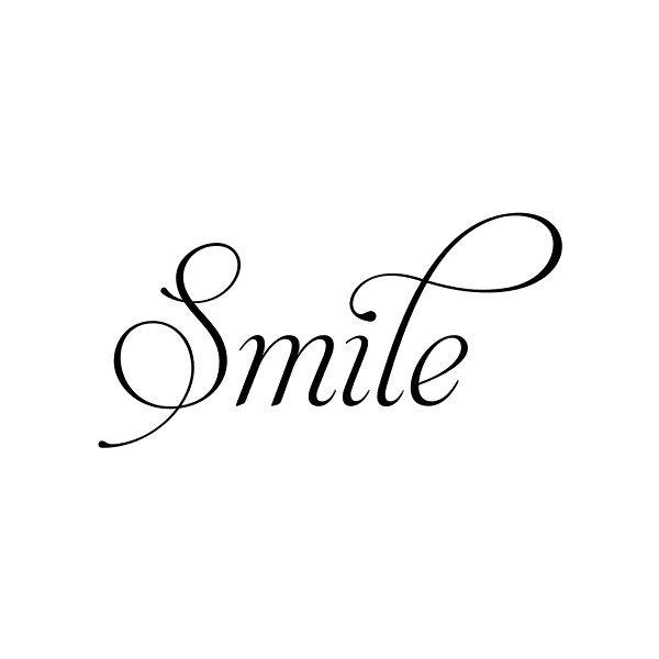 SMILE cursive « MyFonts found on Polyvore | Zeichnungen