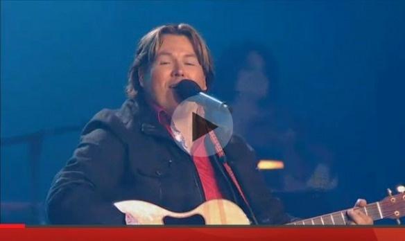Métis Donny Parenteau sings at Canada Day Celebrations