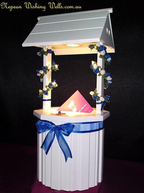 Purple Wedding Wishing Well