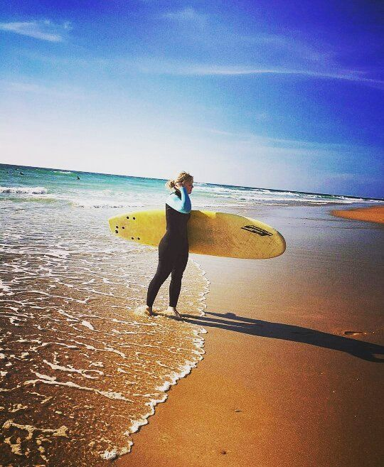 Check out our Surf clothing here! http://ift.tt/1T8lUJC Want to go back  #surf #surfing #surfergirl #surflife #upandride #wave #wavetours #adhopen2016 #hossegor #seignosse #france #sunandfun #summer #missit #missyou @palmine90 @kira444 @l1sa_w1m