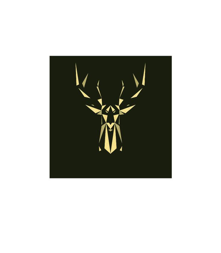 Stag  #minimal #logo #geometric
