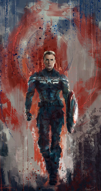 Captain America by Namecchan on DeviantArt