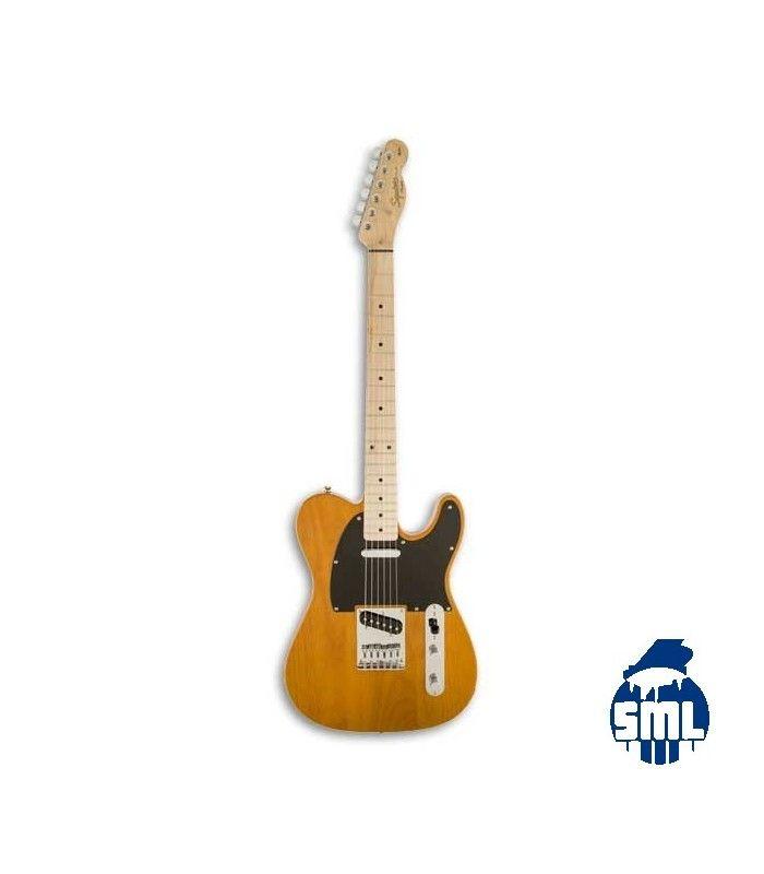 As guitarras Squier Affinity Series Telecaster boas são escolhas, que combinam um estilo tradicional e características clássicas. Com som versátil e fácil de tocar, com acabamento atraente, este modelo Telecaster é uma ótima escolha para se iniciar no mundo da guitarra elétrica.
