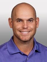 Bill Haas pro golfer. Even though he's bald he's my new golf boyfriend.