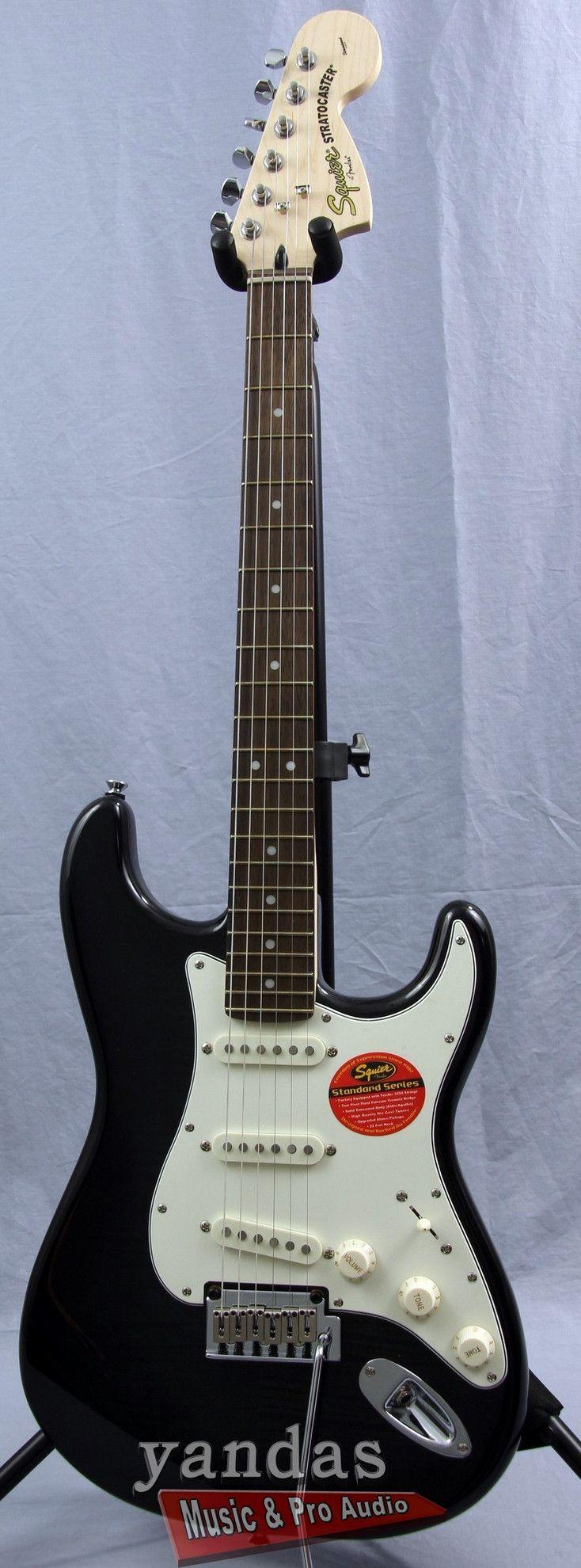 Squier Standard Stratocaster FMT Electric Guitar