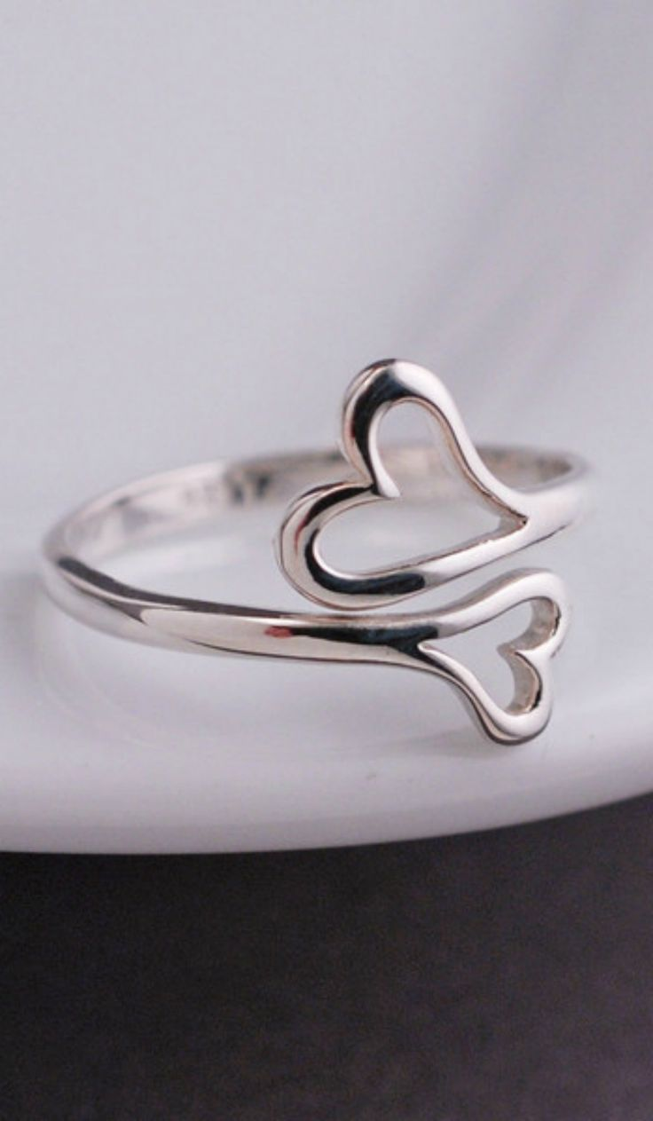Charming ring, love that it's adjustable too, makes it the perfect bridesmaid gift idea.