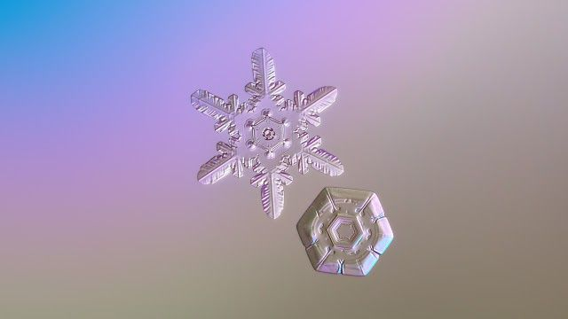 Desktop and mobile wallpapers: snowflake macro photos, HDR night cityscapes and still life light painting pictures. High quality JPEG images, aspect ratio: standard and widescreen (4:3, 5:4, 16:10 and 16:9), resolutions up to Ultra HD 4K (3840x2160 pixels), free download.