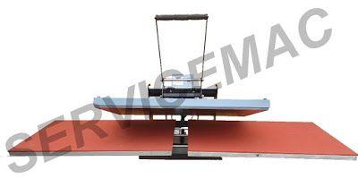 Servicemac equipamentos têxteis.: Maquina de estampar camisetas