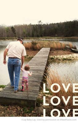 Inspiring Grandparent Photo Ideas - Portrait by Lay Baby Lay via iHeartFaces.com