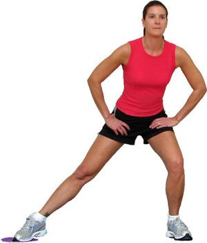 12 Lunges for the Hips, Glutes and Thighs: Sliding Side Lunges