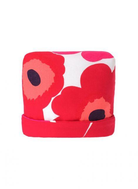 Pieni Unikko -pannumyssy (valkoinen,punainen,fuksia) |Sisustustuotteet, Keittiö, Tekstiilit | Marimekko 27€