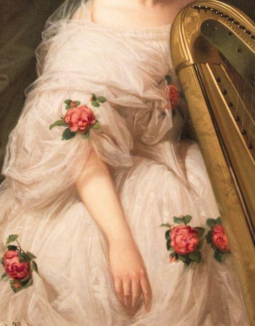 die-rosastrasse:    Luis de Madrazo   Spanish, 1825-1897 portrait detail