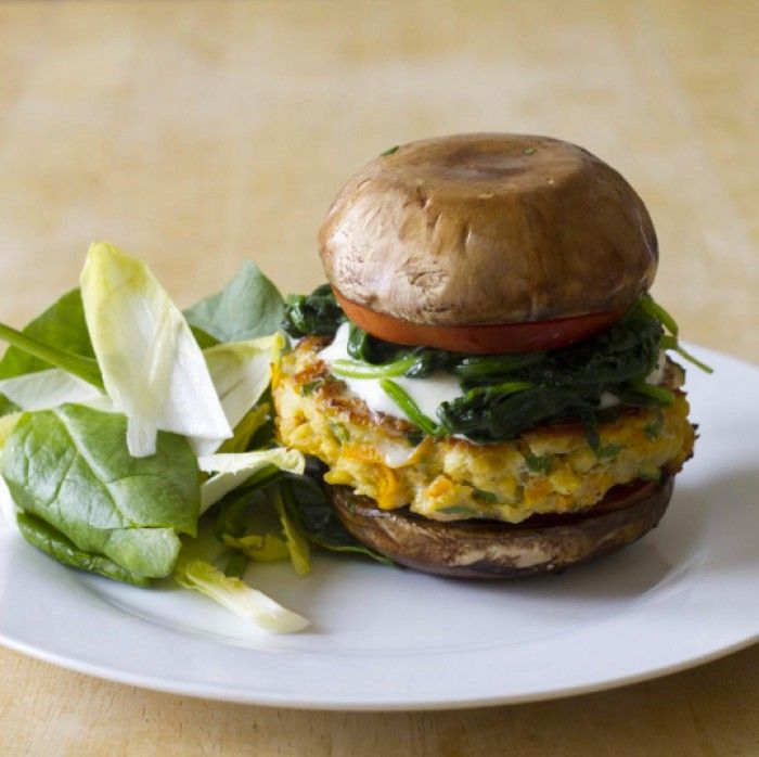 Recipe of the week: Lean lentil burger with portobello mushroom / The Body Coach Blog / The Body Coach
