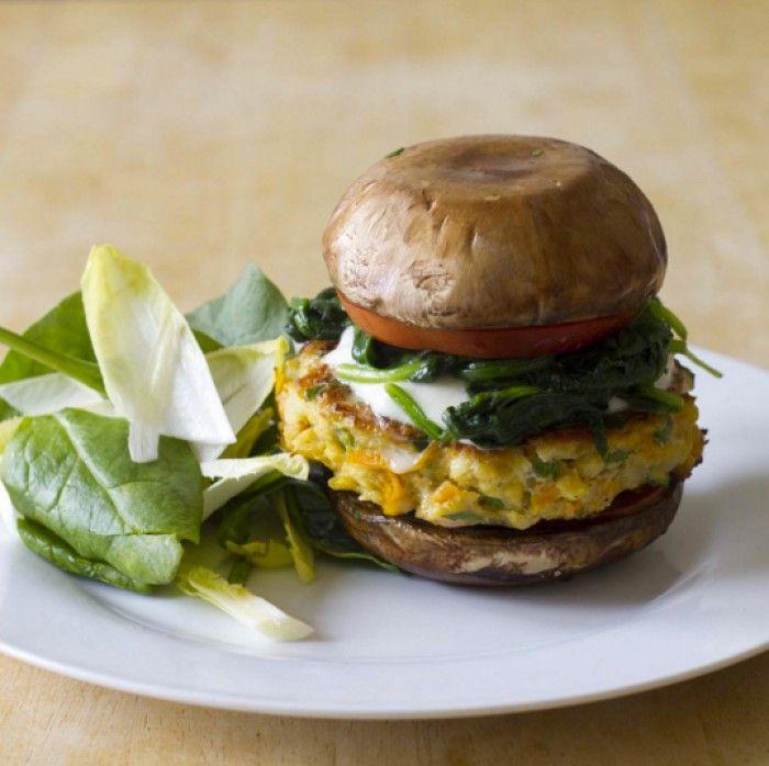 Recipe of the week: Lean lentil burger with portobello mushroom / The Body Coach Blog / The Body Coach