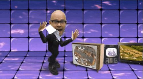 "The opening titles were baffling. | 24 Reasons Why We Miss Harry Hill's ""TV Burp"""