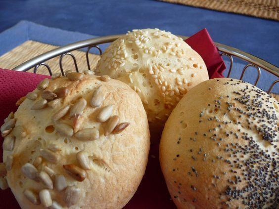Helle Brötchen - Glutenfrei Backen und Kochen bei Zöliakie. Glutenfreie Rezepte, laktosefreie Rezepte, glutenfreies Brot