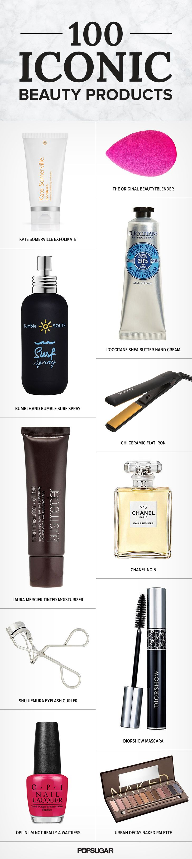 100 Iconic Products You Need to Check Off Your Beauty Bucket List