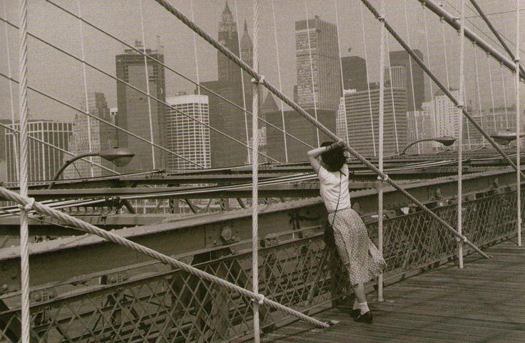 Édouard Boubat, Pont de Brooklyn, New York, 1982
