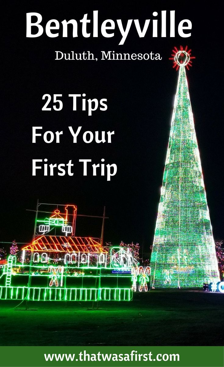 Duluth Christmas Lights 2020 Free 2020 Bentleyville Tour of Lights   25 Tips for Your First Trip
