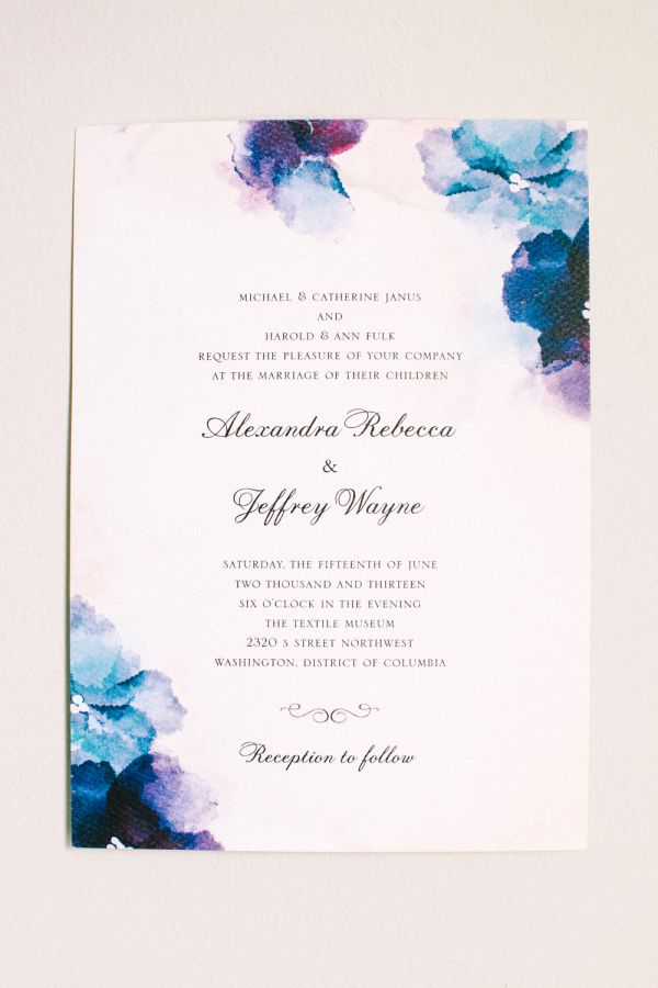 Wedding Invitation Wording Examples: From Casual to Traditional | StyleCaster