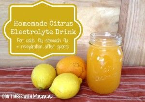 electrolyte-drink