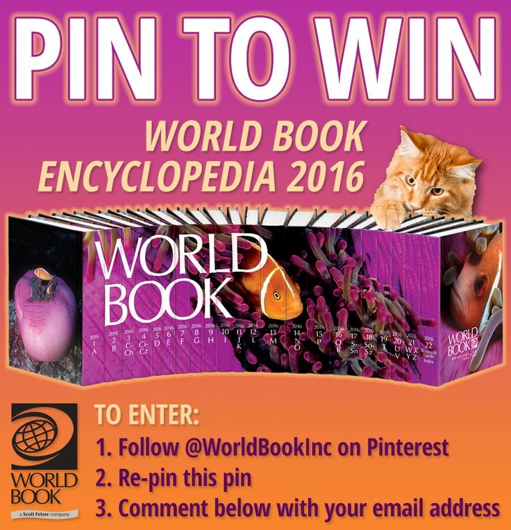 35 best world book images on pinterest books online coupon and you can win the 2016 world book encyclopedia pintowin not on pinterest no fandeluxe Gallery