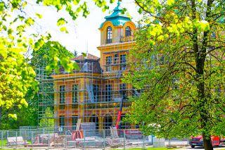 Ludwigsburg in Bildern: Sanierung  Schloss Favorite Ludwigsburg Infohttp:/...