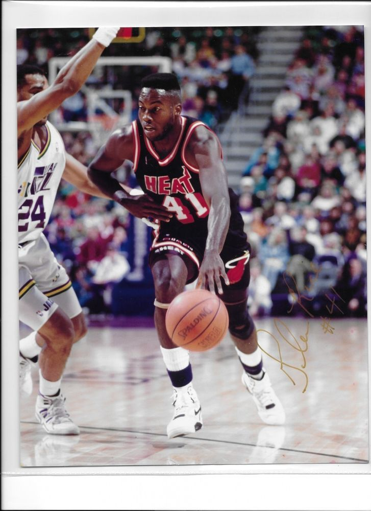 Glen Rice Signed 8x10 Photograph #Miami Heat from $24.99