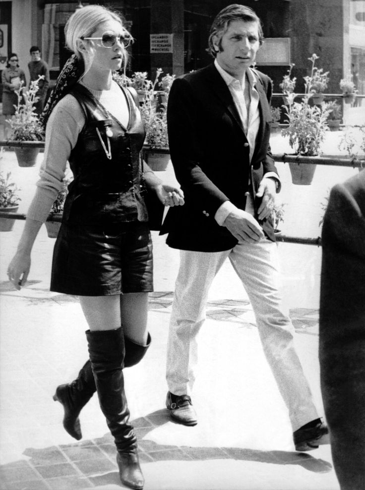 Brigitte Bardot and Gunter Sachs