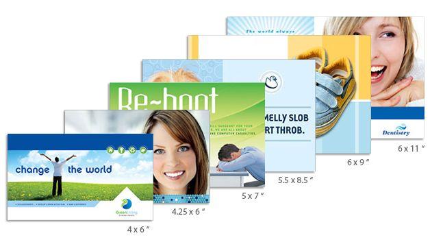 Standard Postcard Size - Flat Postcards