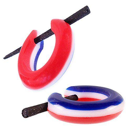 Pin orecchini corno Chic-Net rosso bianco blu striscia cerchi in legno pin 14 millimetri intagliati a mano Chic-Net http://www.amazon.it/dp/B00L8MOBAO/ref=cm_sw_r_pi_dp_O3shvb0X9R5JG