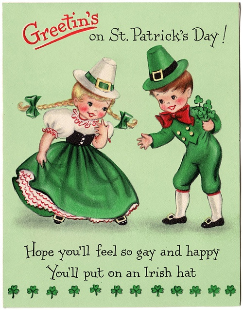 Greetin's on St. Patrick's Day.