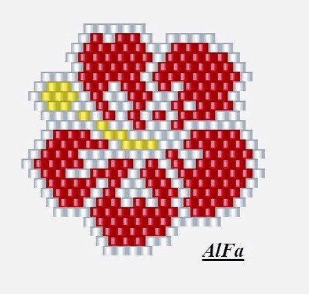 Серьги, кулоны :кирпичик, мозаика