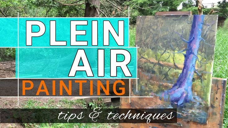 Plein Air Paining With Vibrancy