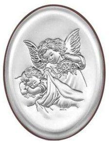Prezent na chrzest Obrazek Anioł Stróż - (BC#6385) Pasaż Handlowy