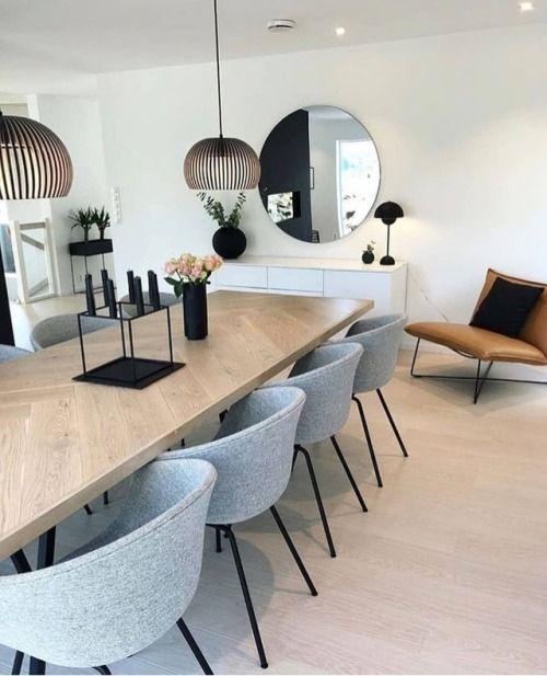 32 Stylish Dining Room Ideas To Impress Your Dinner Guests: Objetivoadeco: #Comedores Con Estilo Luzcalidos Y Modernos
